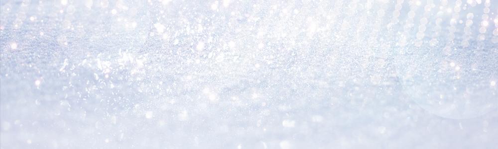 Fallen snow banner