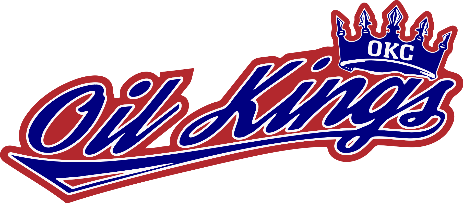 Okc oilkings blueonred