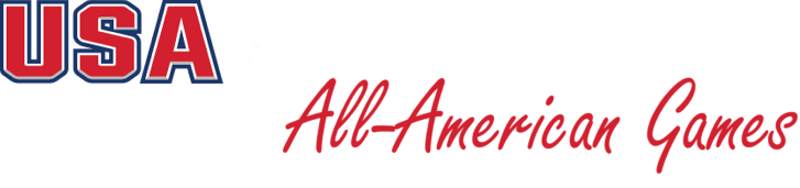 Usa softball all american games logo 2