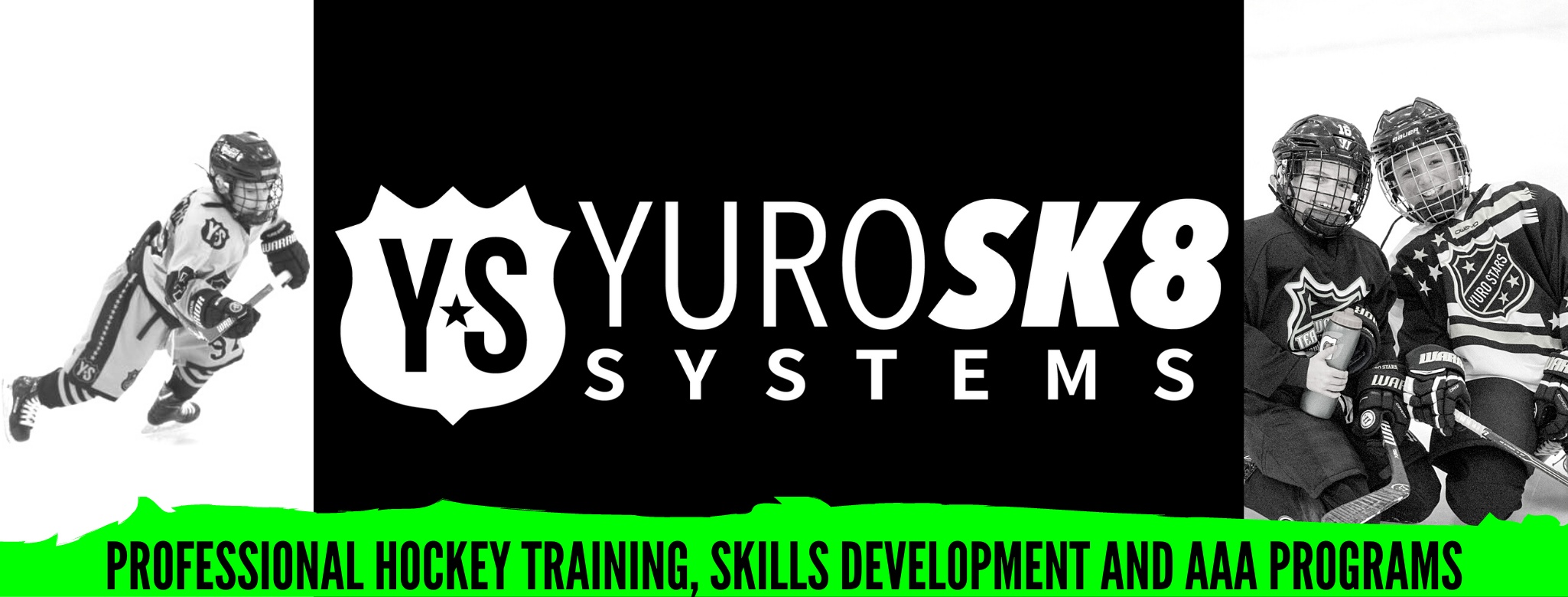 Professional hockey training  skills development and aaa programs