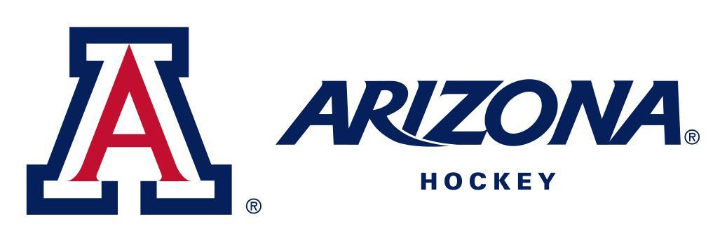 A   arizona   hockey   white bg blue az