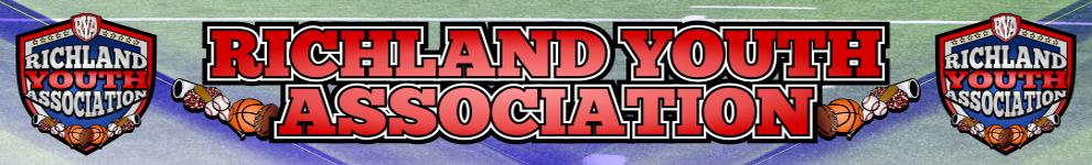 Richland youth association web banner