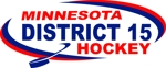 District 15 hockey logo 2010