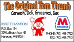 Tom thumb business card 2