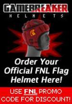 Gamebreaker helmet ad