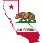 California_-_outline_and_flag