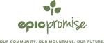 Epic promise logo stacked tagline rgb