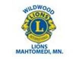 Lions club logo element view