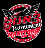 Manitoba hawks 3 on 3