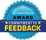 Zoomreports award 2