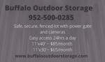Buffalo outdoor storage ad business card   use this one