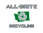 All brite recycling logo