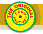 The original taco factory banner
