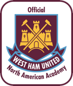 West ham united north america academy badge