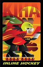 Kiha hockey poster 150