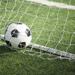 Soccer Ball in side a goal