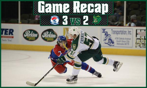 Sioux City Falls Just Short In Shootout