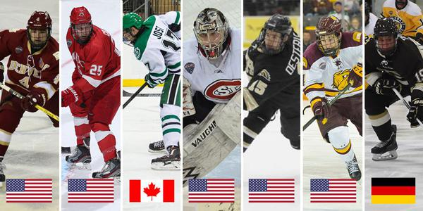 Seven Former NCHC Standouts Selected to Play in 2018 IIHF World Championship 61518f841