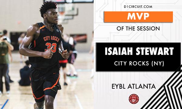 NIKE EYBL Atlanta MVP: Isaiah Stewart