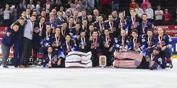 Quintet of NCHC Alumni Earn Bronze Medal at 2018 IIHF World Championship 71f63394b