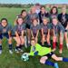 U14 Girls and Coach Wingo