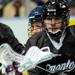 Curtis Knight in his NLL debut vs Toronto Rock on Jan 13, 2013