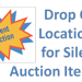 Drop off locations for Silent Auction Items
