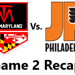 Third period dooms EHL Jr. Flyers in 4 – 2 loss to Team Maryland