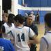 Coach Joshua Alabata gives instructions