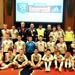 SSC U13 boys at the Mohegan Sun Champions Clinic participating as a demonstration group for Paul Buckle in his Attacking session.