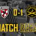 Match recap