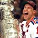 Mark Messier winning the Stanley Cup with the New York Rangers