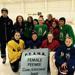 Peewee A Wins Team Achievement Award