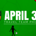 Save the Date!   Team Photos on April 30th