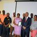 Minister Gordon-Pamplin uses BFA Mobile App to select her favourite BFA team