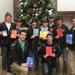 "CT Oilers at Greenwich Hospital ""Holiday Mail for Heroes"" 2015"