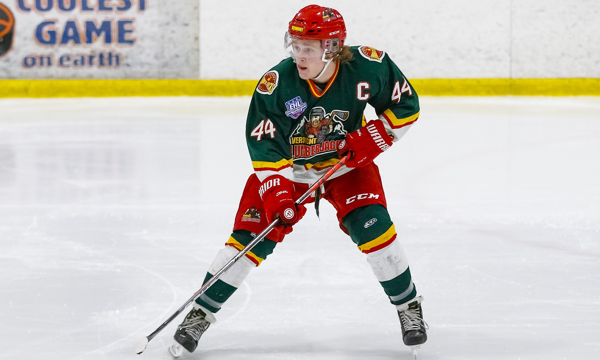 Image result for The Vermont Lumberjacks forward led the EHL in points in 2019-20