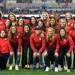 USWNT 1999 team with SRFC Alumna Tiffany Roberts Sahaydak