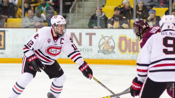 NCAA: St. Cloud State's Prow Among Top Ten Candidates For Hobey Baker Award
