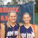Overbrook pitcher Alyssa Biggs and catcher Grace Bell