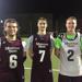 Captains Gunner Serota (6), Nick Eckart (7) and Austin Todd (2) || Missouri State Men's Lacrosse