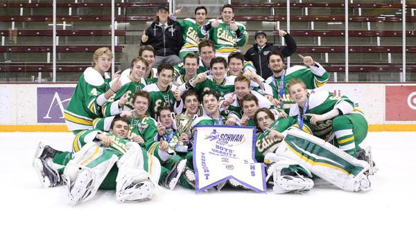 MN H.S.: Scheerer Scores Twice To Rocket Edina To Schwan Cup Gold Division Championship