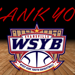 Thank You from the WSYB Staff