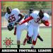 AzFL Arizona Football League players dance for joy