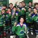 BYHA Bantams celebrate after victory