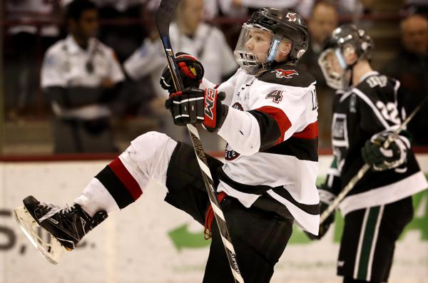 MN H.S.: Power-play Goal Sends Eden Prairie To State Over Holy Family
