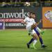 Cody Mizell taking a goal kick against Louisville City FC