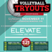 Elevate-Girls-Volleyball-Tryouts