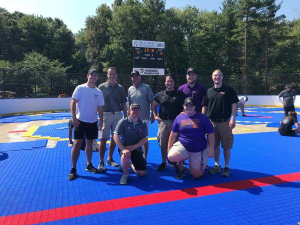 Phantoms and Penguins Bring Outdoor Hockey to Mill Creek Park