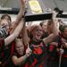 DeCecco won NCAA Championships with Princeton University in 2002 and 2003